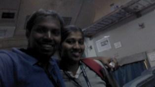 With Kishori