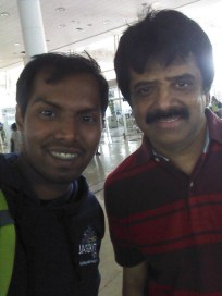 With Srinivas Sir